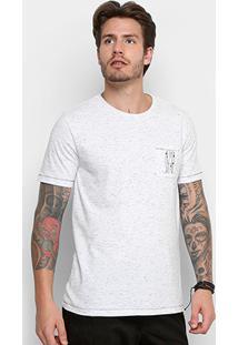 Camiseta Redley Esp Bolso Bordado Alma Solar 118843 - Masculino