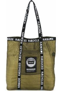 Raeburn Bolsa Tote Parachute - Verde
