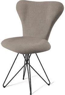 Cadeira Jacobsen Series 7 Cinza Com Base Estrela Preta - 49620 - Sun House
