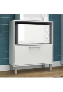 Armário De Cozinha 1 Porta Bmu29 Branco - Brv Móveis