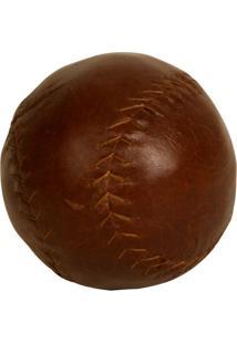 Bola De Beisebol Decorativa De Couro American