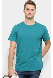 Camiseta Reserva Básica Masculina - Masculino-Verde Escuro