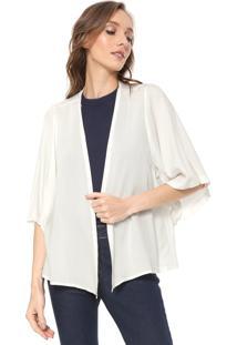 Kimono Mercatto Liso Off-White