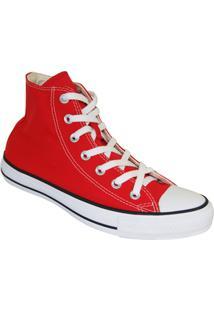 Tênis Converse All Star Cano Alto - Masculino-Vermelho