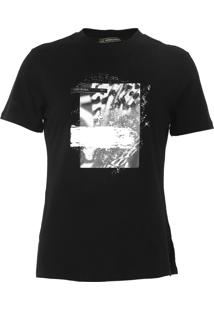 Camiseta Morena Rosa Estampada Preta - Preto - Feminino - Algodã£O - Dafiti