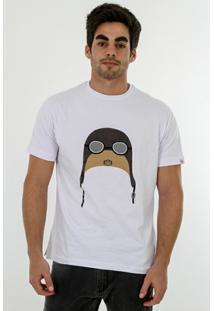 Camiseta Romeo Store Vintage Aviator - Masculino