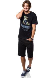 Camiseta Asphalt Ayc Camouflaged - Masculino