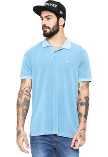 Camisa Polo Quiksilver Dyed Azul