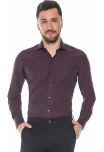 Camisa Raphy Vinho Maquinetada - Masculino