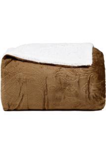 Cobertor Inter Home Queen Marrom