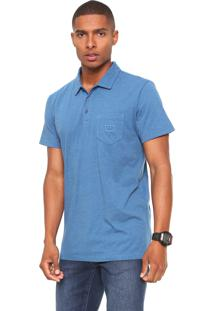 Camisa Polo Billabong Standart Azul