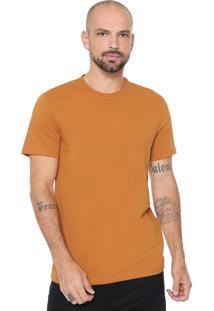 Camiseta Hering Básica Caramelo