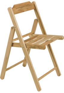 Cadeira Dobrável Tramontina Beer 13876050 Madeira