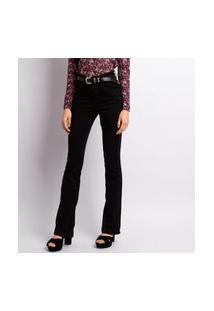 Calça Jeans Flare Black Feminina Jeans
