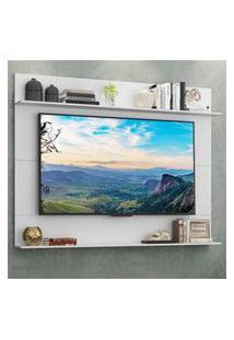 "Painel Tv 65"" Com Prateleiras Amsterdá Classic Multimóveis Branco"
