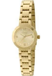 Relógio Condor Feminino Coleção Mini Dourado - Co2035Kku/4X