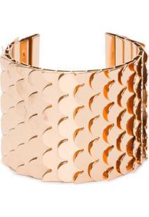Bracelete Escamas Animale - Dourado