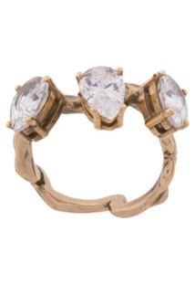 Voodoo Jewels Anel Branch - Dourado