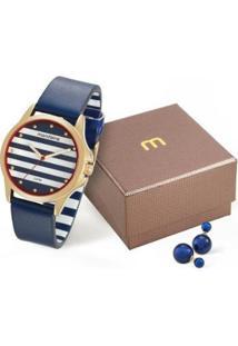 Relógio Mondaine 76687Lpmvdh2Ky Feminino - Feminino-Azul