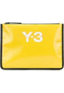 Y-3 Bolsa Carteira Y-3 - Amarelo
