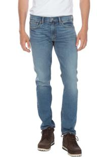 Calça Jeans Levis 511 Slim Clara - Masculino-Azul