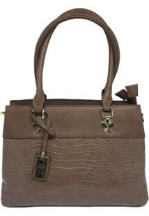Bolsa Casual Importada Sys Fashion 8546 Caqui