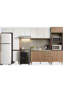 Cozinha 6 Peã§As Madeira/Branco Be Mobiliã¡Rio - Branco - Dafiti
