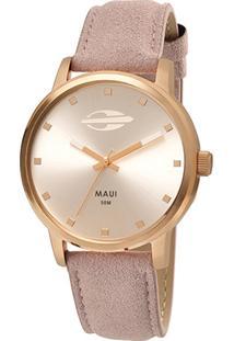 Relógio Mormaii Analógico Mo2035Fu-2K Feminino - Feminino