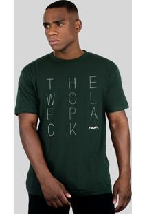 Camiseta 182Life The Wolfpack Musgo