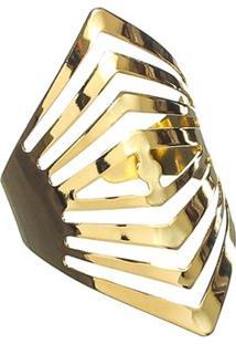 Anel Dourado Isis - Feminino-Dourado