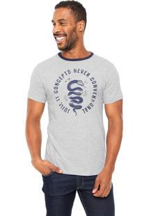 Camiseta Juice It Snake Slice Cinza
