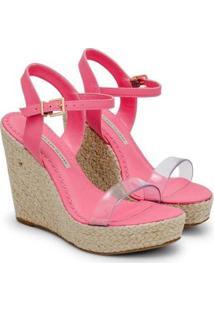 Sandália Sapatinho De Luxo Napa Dubai Tira Vinil Feminina - Feminino-Rosa