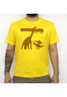 Dinossaurs Will Die - Camiseta Clássica Masculina