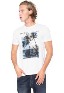 Camiseta Malwee Coastal Branca