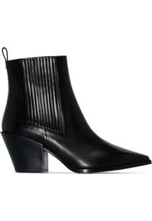 Aeyde Ankle Boot Clássica Kate - Preto