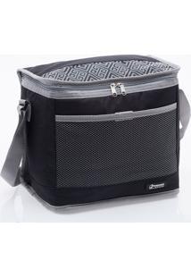 Bolsa Térmica Pratic Cooler 10 Litros - Paramount - Preto