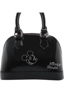 Mini Bolsa Mickey Feminina - Feminino-Preto