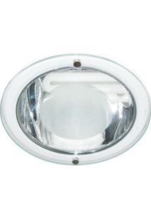 Luminária De Embutir Para 1 Lâmpada 20W 16,8X16,8Cm Branca Bonin