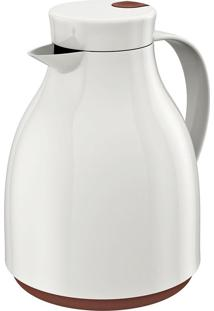 Bule Térmico Oslo 1L - Euro Home - Branco / Marrom