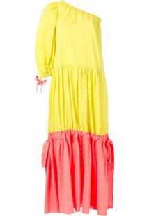 Clube Bossa Vestido Longo Dubarry - Amarelo
