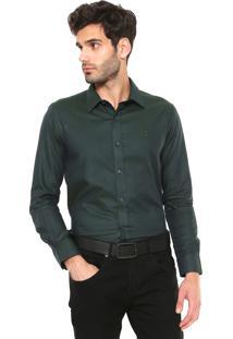 Camisa Sergio K Padronagem Verde