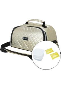 Bolsa Térmica Oxer Lunch Bag Fashion Smoll - Ouro