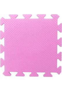 Tapete Tatame Eva Loja Da Maria 50X50X1Cm 10Mm Rosa Pink