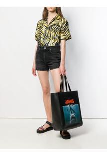 Calvin Klein 205W39Nyc Jaws Shopper Tote - Preto