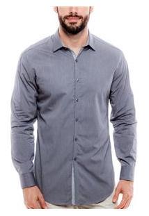 Camisa Masculina 014084 Dkny - Asphalt