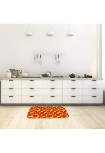 Tapete De Cozinha Mdecore Tomate Amarelo 40X60Cm