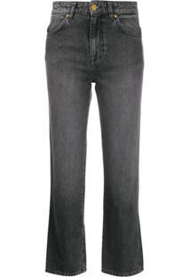 Victoria Victoria Beckham Kick Flare Jeans - Cinza