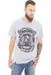 Camiseta Vancouver Rider The Best Cinza