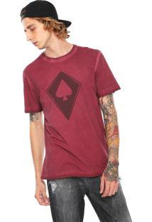 Camiseta Mcd Pipa Vinho