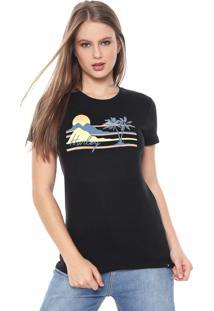 Camiseta Hurley Mellowin Preta